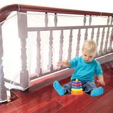 3M Balcony Protection Net Child Kid Protection Rail Balcony Stair Fence Thick Hard Mesh Children Safety Net Security Gate