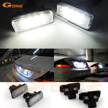 цена на Excellent Ultra bright 3528 Epistar Led License plate lamp light for Mercedes-BENZ W203 5D Touring/W211/W219,R171,No OBC error