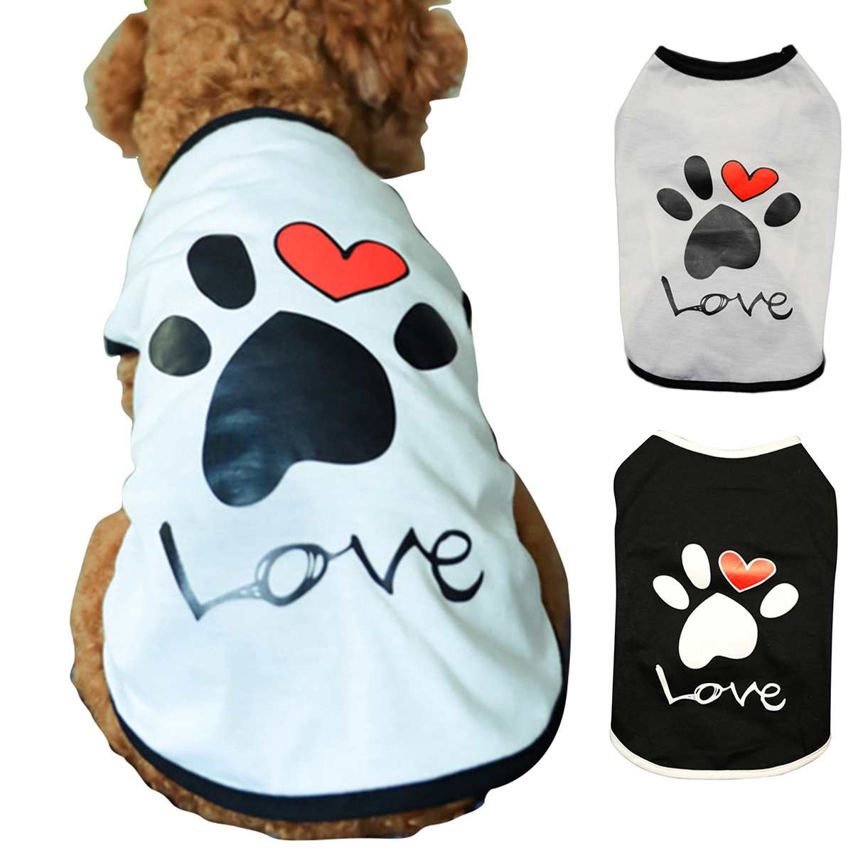 Collection Here Summer Pet Lizard Vest Shirt Small Dog Tank Top Puppy Cat T Shirts Embroidered Sticker Mesh Vest Clothing Dog Vests Dog Clothing & Shoes