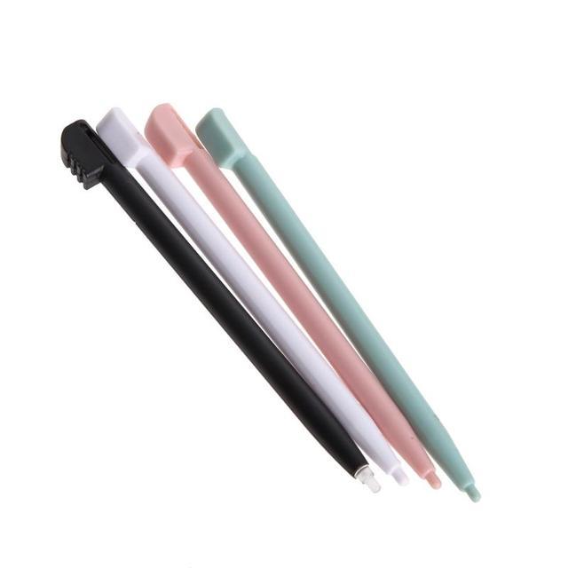 Dsl ndsl에 대 한 ds 라이트에 대 한 nds에 대 한 닌텐도에 대 한 4 pcs 컬러 터치 스크린 스타일러스 펜 게임 콘솔 펜 고품질 라이트 블루 스타일러스
