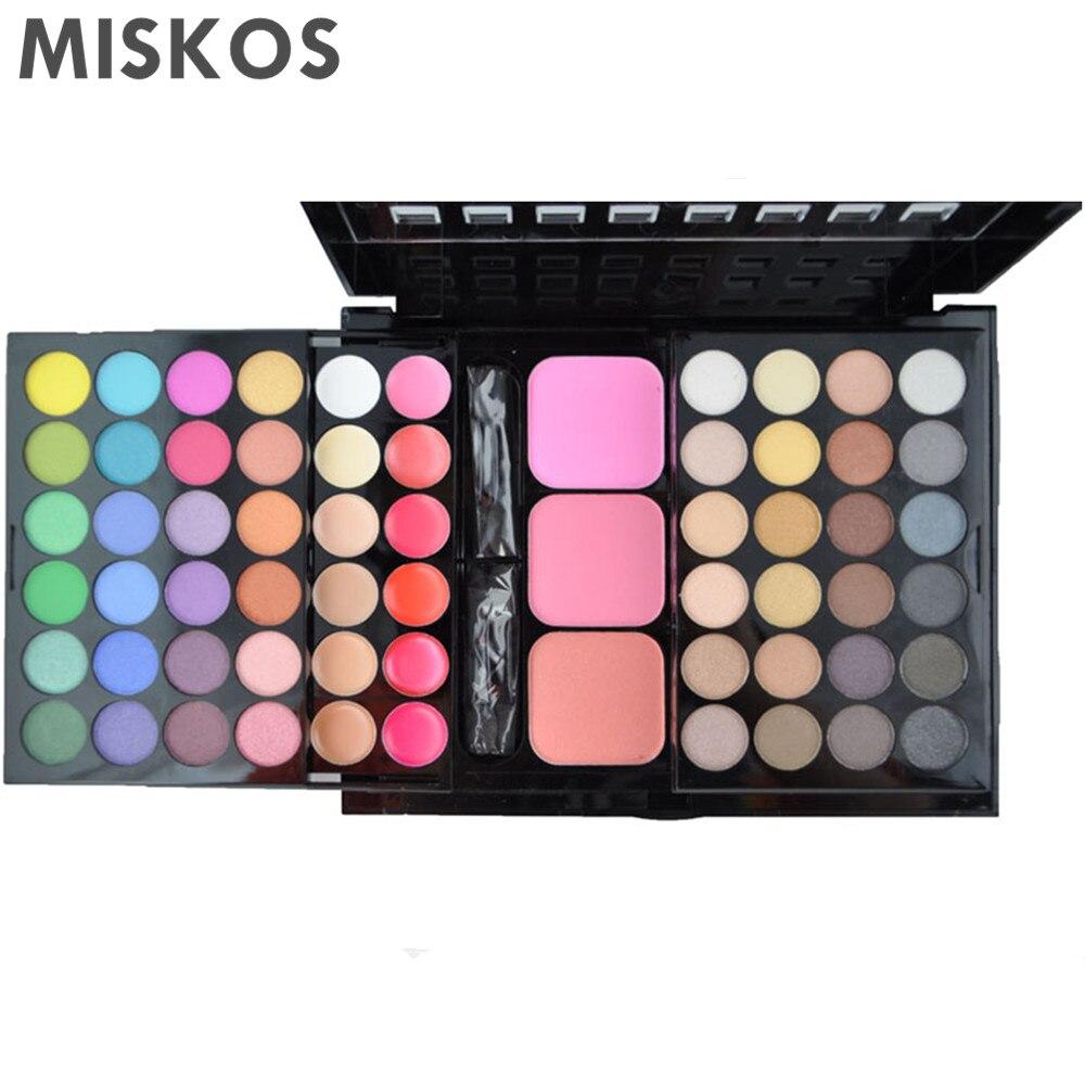 Envío gratis 78 Color Paleta de sombras de ojos Set 48 Eyeshadow + - Maquillaje - foto 4
