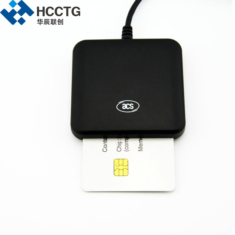 ACR39U USB EMV Android Tablet PS SC Compliant ISO 7816 Smart Card Reader  Write IC Contact  Chip Smart Card