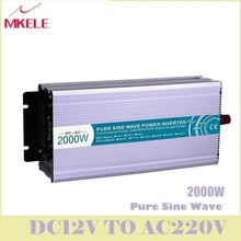 MKP2000-122R High Efficiency Dc-Ac Pure Sine Wave Power Inverter 12v 220v 2000w For Household Solar Voltage Converters China