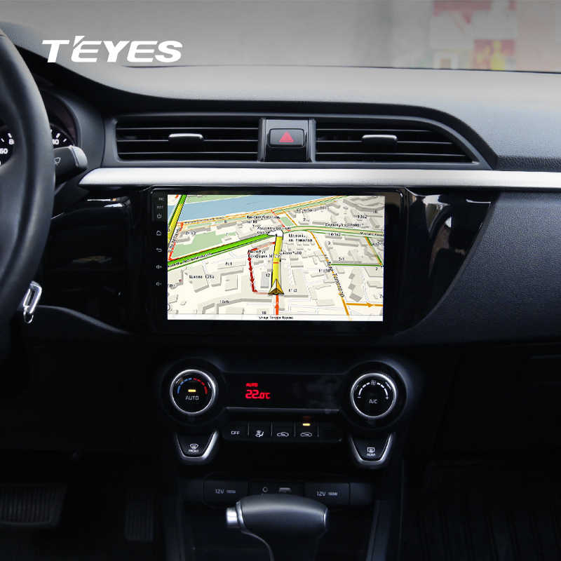 Teyes Cc Car Radio Multimedia Video Player Navigation Gps Android For Kia Rio Accessories Sedan No