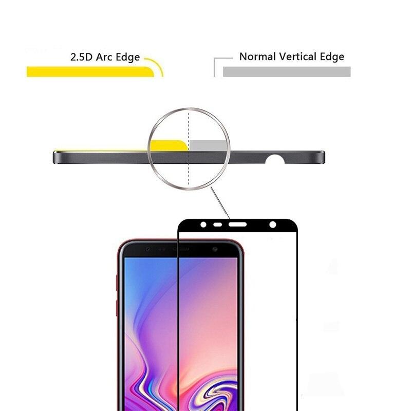 Image 2 - Закаленное стекло для Samsung Galaxy J6 2018 sm j600f/ds стекло для Samsung j6 + J6 plus 2018 sm j610fn защитное стекло j 6 пленка 9h-in Защитные стёкла и плёнки from Мобильные телефоны и телекоммуникации