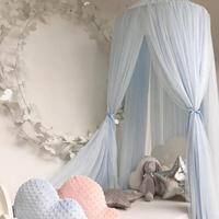 Baby Bed Mosquito Net Kids Bedding Round Dome Hanging Bed Canopy Curtain Chlildren Room Decoration Crib Netting Tent For Kids