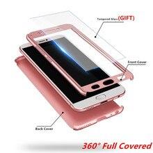 цена на For Xiaomi Redmi 7 Case 360 Xiaomi Redmi Note 7 Case Shockproof Redmi 6 6A 5 5A 4 4A 4X 3 3S S2 Pro Plus Cover Tempered Glass