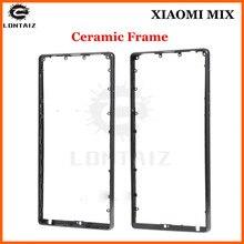 """Оригинальная рама mi mix Для 6,4 """"Xiaomi Mi Mix/MiMix Pro, 18 К, керамическая Передняя и средняя рамка + задняя крышка аккумулятора, чехол"""