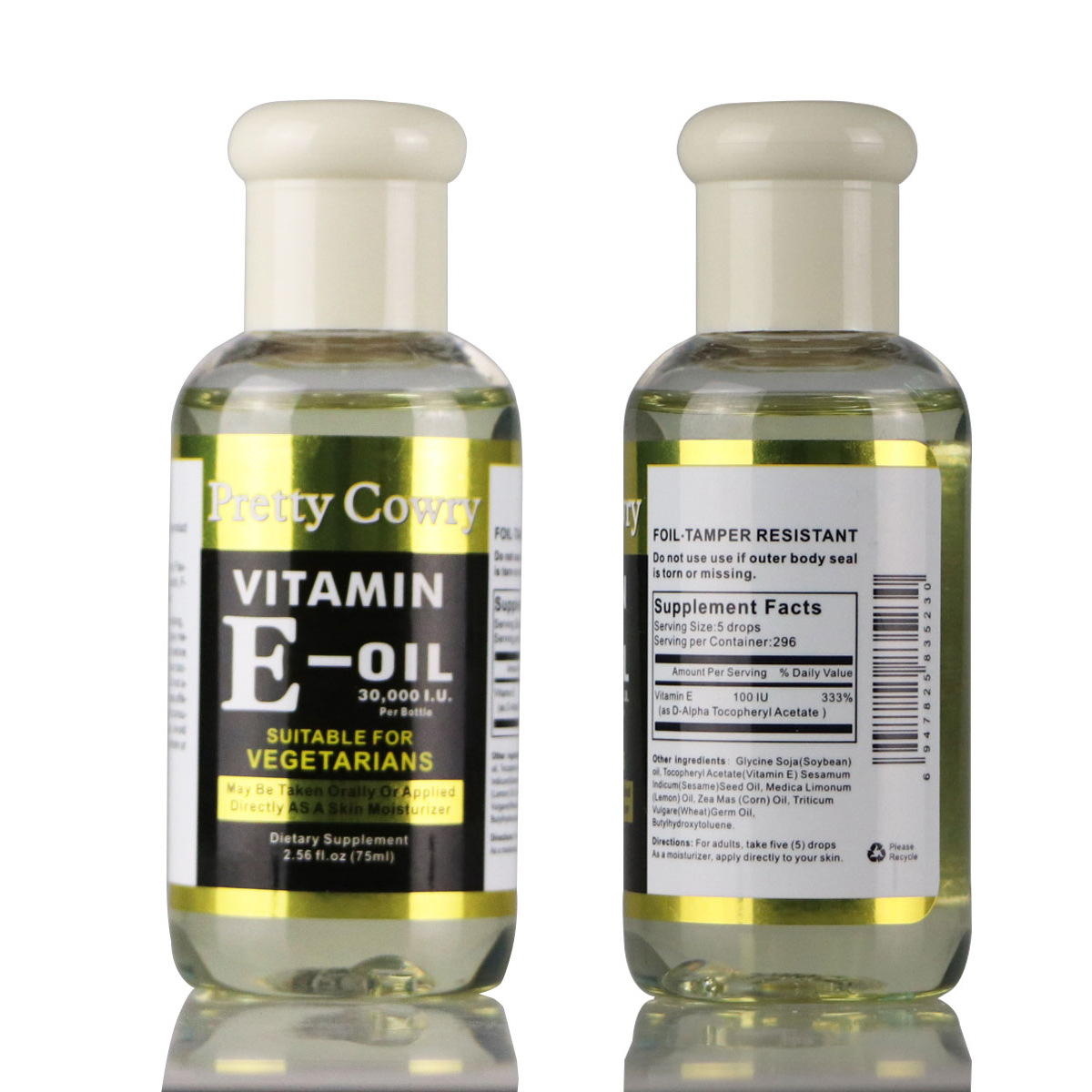 VITAMIN E OIL 30000 IUskin Whitening Serum Vitamins Anti Wrinkle Lifting Visage Skin Repair Essence Korean Cosmetics