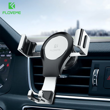 FLOVEME Gravity Car Phone Holder Universal Air Vent Mount Clip Cell For iPhone Adjustable Mobile Stand