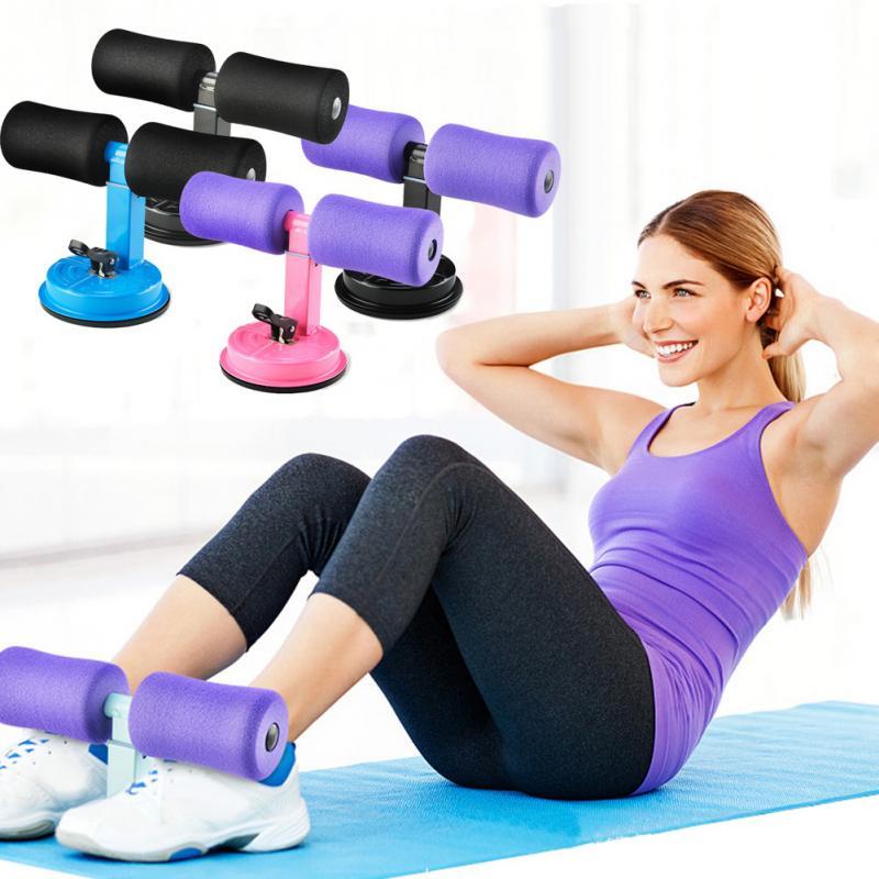 Assistente de Sit-ups Dispositivo Home Fitness Gym Workout Exercício Saudável Abdômen Perder Peso Equipamentos de Corpo Ajustável