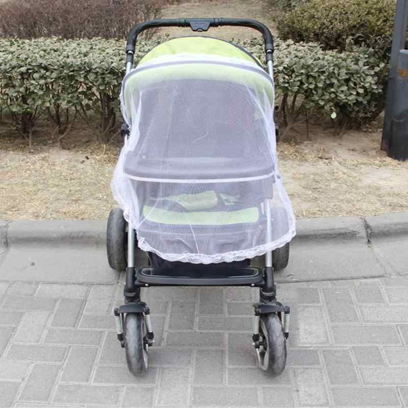 รถเข็นเด็กยุงสุทธิทารกแรกเกิดเด็กตาข่ายป้องกันเด็กอุปกรณ์เสริมสำหรับรถเข็นเด็กทารกรถเข็นเด็กยุงสุทธิ Shield