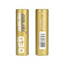 2PCS GOLISI G30 IMR18650 3000mah 3.7V 25A High-drain E-CIG Rechargeable 18650 Battery for VAPE Flashlight Headlamp Toy