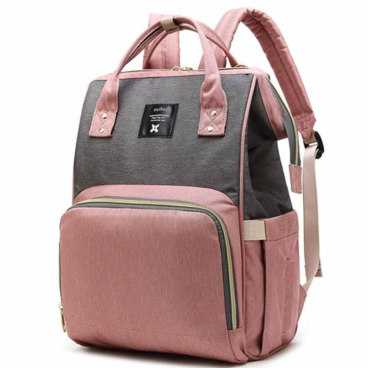 Mommy Diaper Bag Large Capacity Designer Nursing Bag Baby Nappy Bag Baby Care Bag for Mother Kid Fashion Travel Backpack