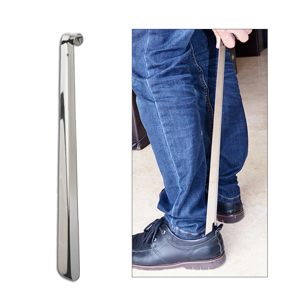 Mobilitätshilfen Gesundheitsversorgung Gutherzig 51 Cm Langstieligen Schuh Horn Metall Schuh Horn Edelstahl Schuh Horn