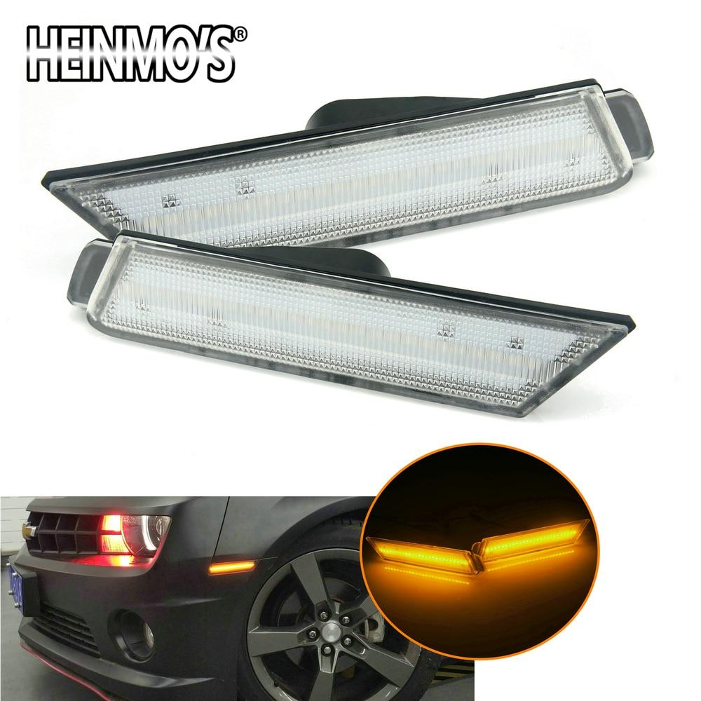 For Camaro Car Chevrolet Rear Light LED Accessories For Chevrolet Camaro Chevy Parts Side Turn Signal For Chevy Camaro 2010 2015
