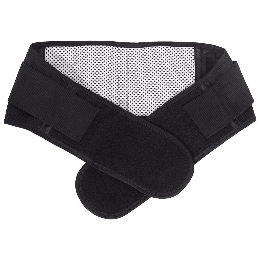 Belt Cummerbund Waist-Brace-Support-Belt Lower-Back Lumbar Tourmaline Pain-Relief Magnetic-Therapy