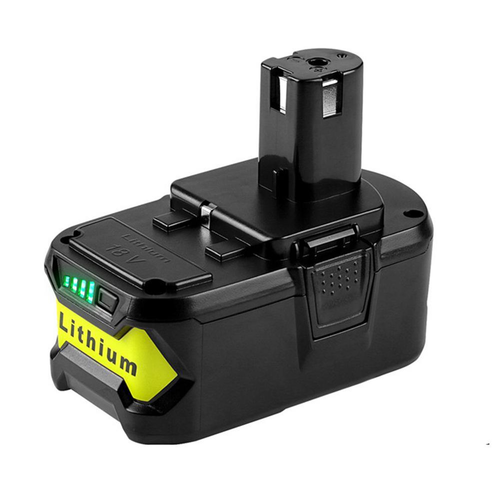 18V gris haute capacité Rechargeable perceuse électrique outil électrique batterie au Lithium pour RYOBI ONE + 18V perceuse sans fil outil 3 Ah-6 Ah