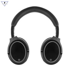 Ssmarwear Bluetooth Headphones Wireless Headset Anc Active Noise Cancelling Headphone Earphone Over Ear Stereo Deep Bass Casque