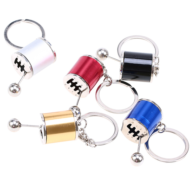 Creative Manual Shift Gear Key Chain Auto Car's Parts Toy Boyfriend Metal Gift Fashion Ladies