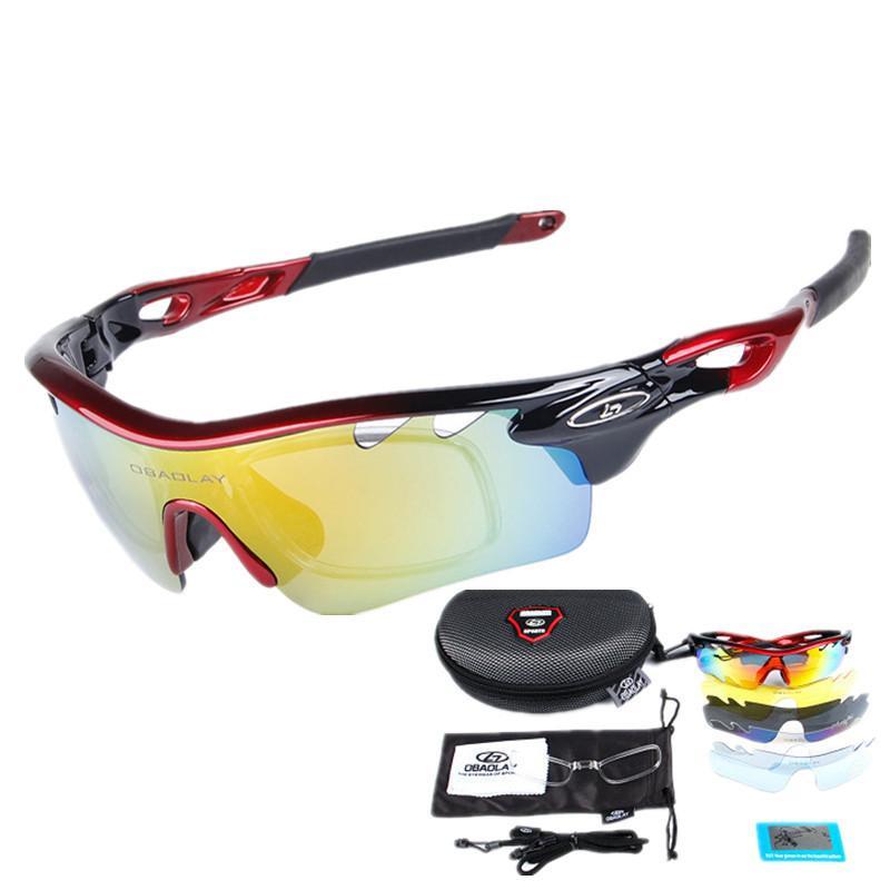 Men Women UV400 Polarized Cycling Sunglasses Bike Goggles Outdoor Sports Glasses