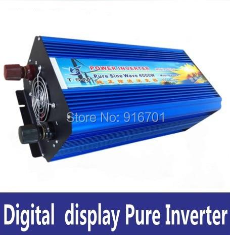 Vendita caldo inverter DC12v per AC220v 4000 w invertitore puro dellonda di seno solar inverterVendita caldo inverter DC12v per AC220v 4000 w invertitore puro dellonda di seno solar inverter