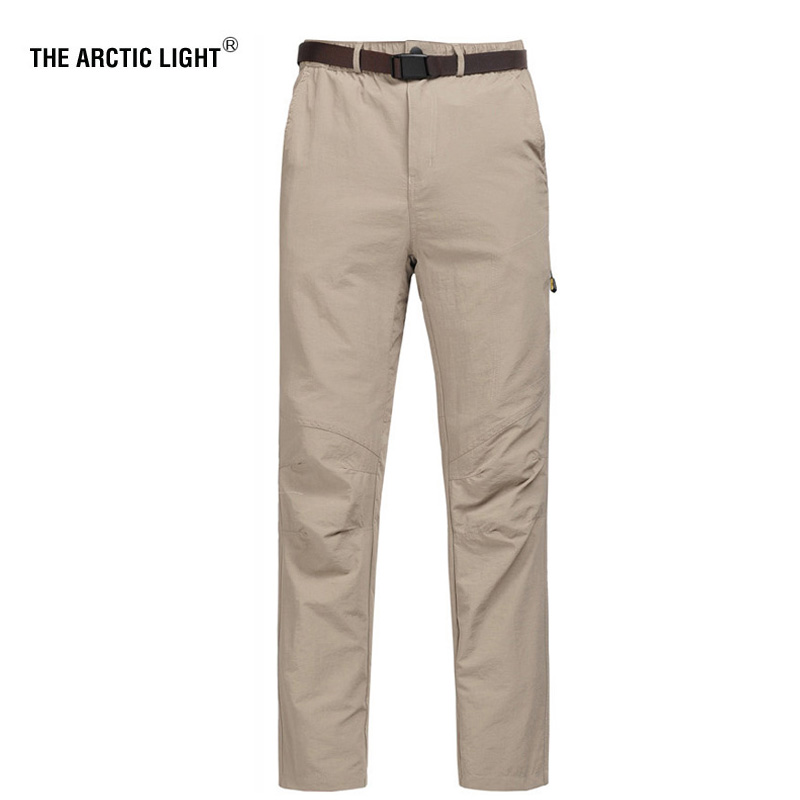 THE ARCTIC LIGHT 5XL Men's Summer Quick Dry Pants Outdoor Elastic Camping Hiking Trekking Fishing Climbing Trousers