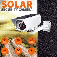 Solar Camera Security Camera Wireless Remote Monitoring Solar Video Wifi Alarm System Infrared Imager Ip Camera Wifi Camera