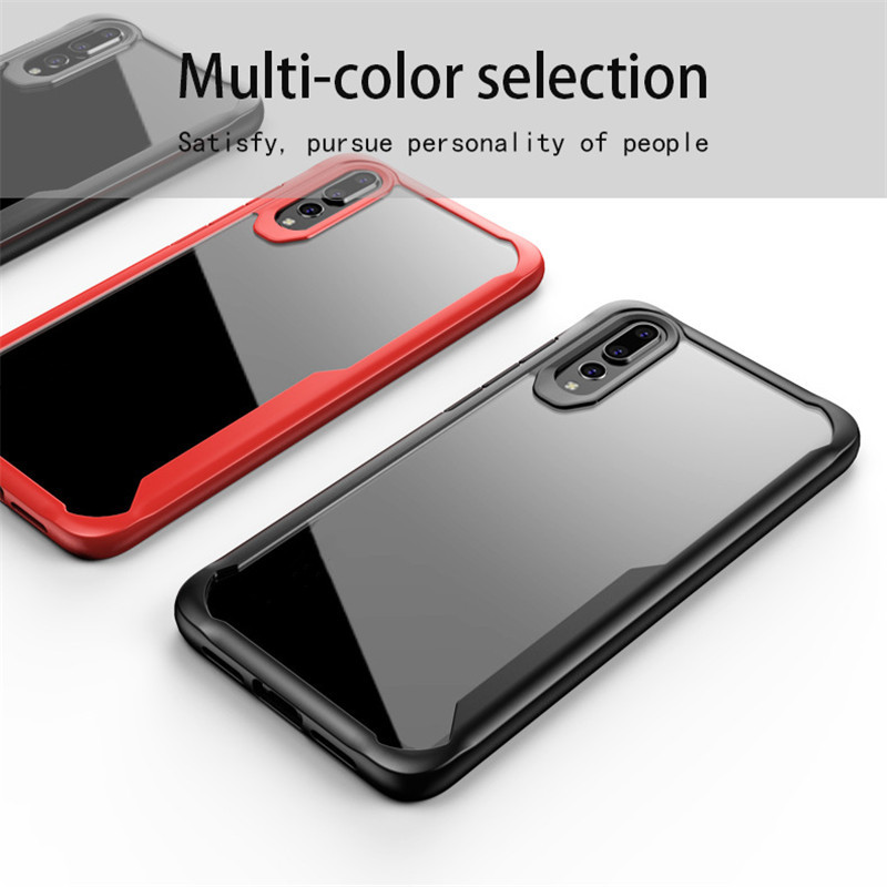 KISSCASE Transparent Soft TPU Case For Xiaomi MI 8 SE Max 3 Redmi 6 Pro Note 5 Case Phone PC Cases Shockproof Fundas Covers Capa in Fitted Cases from Cellphones Telecommunications