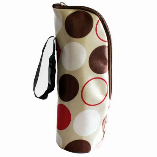 Unisex moda única conveniente Popular de viaje portátil bebé chico de alimentación de botella de leche botella de calentador de almacenamiento de titular bolsa seguro