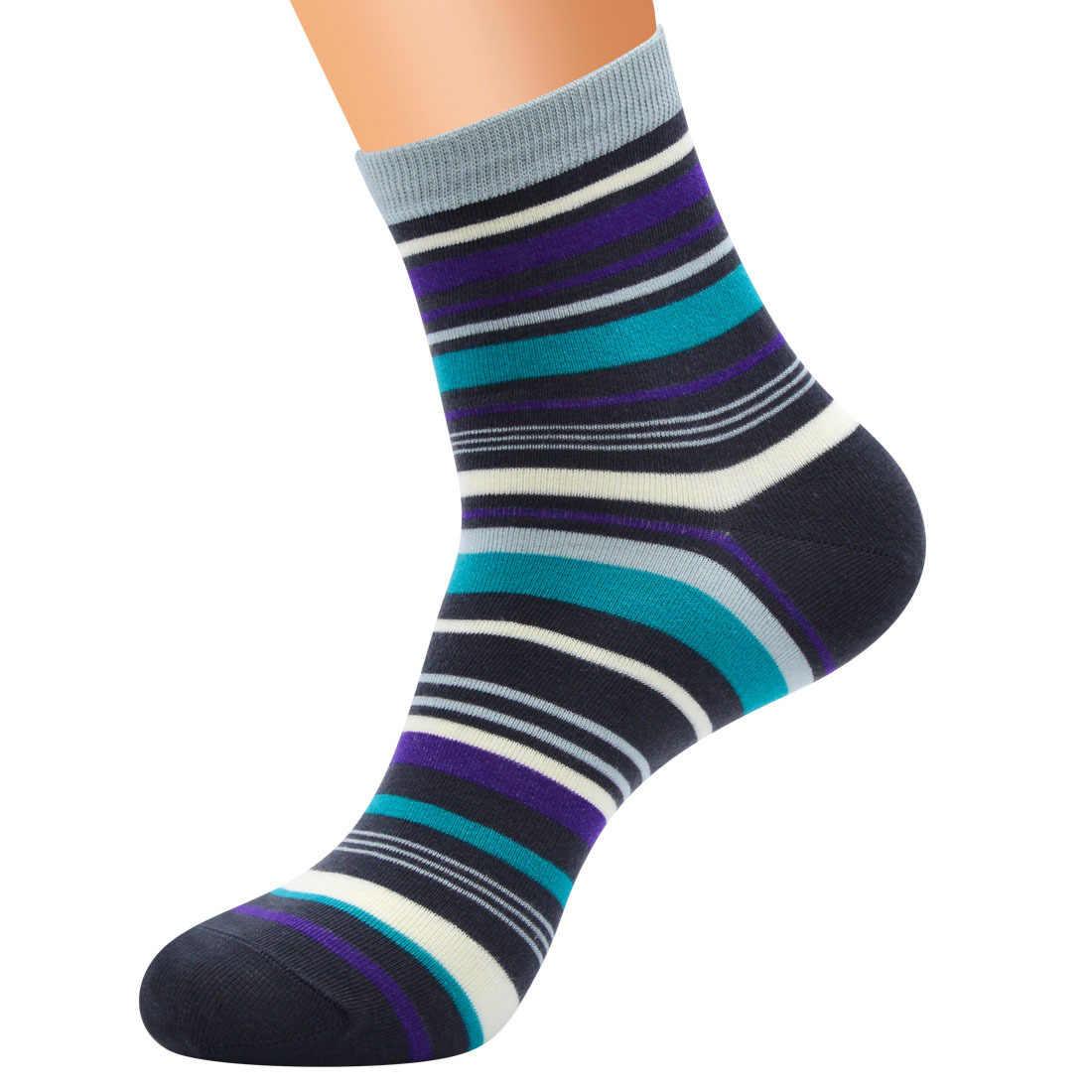 PEONFLY ลายถุงเท้าผู้ชายตลกสั้นผ้าฝ้าย Sokken วิทยาลัยถุงเท้า Motion Happy ถุงเท้า