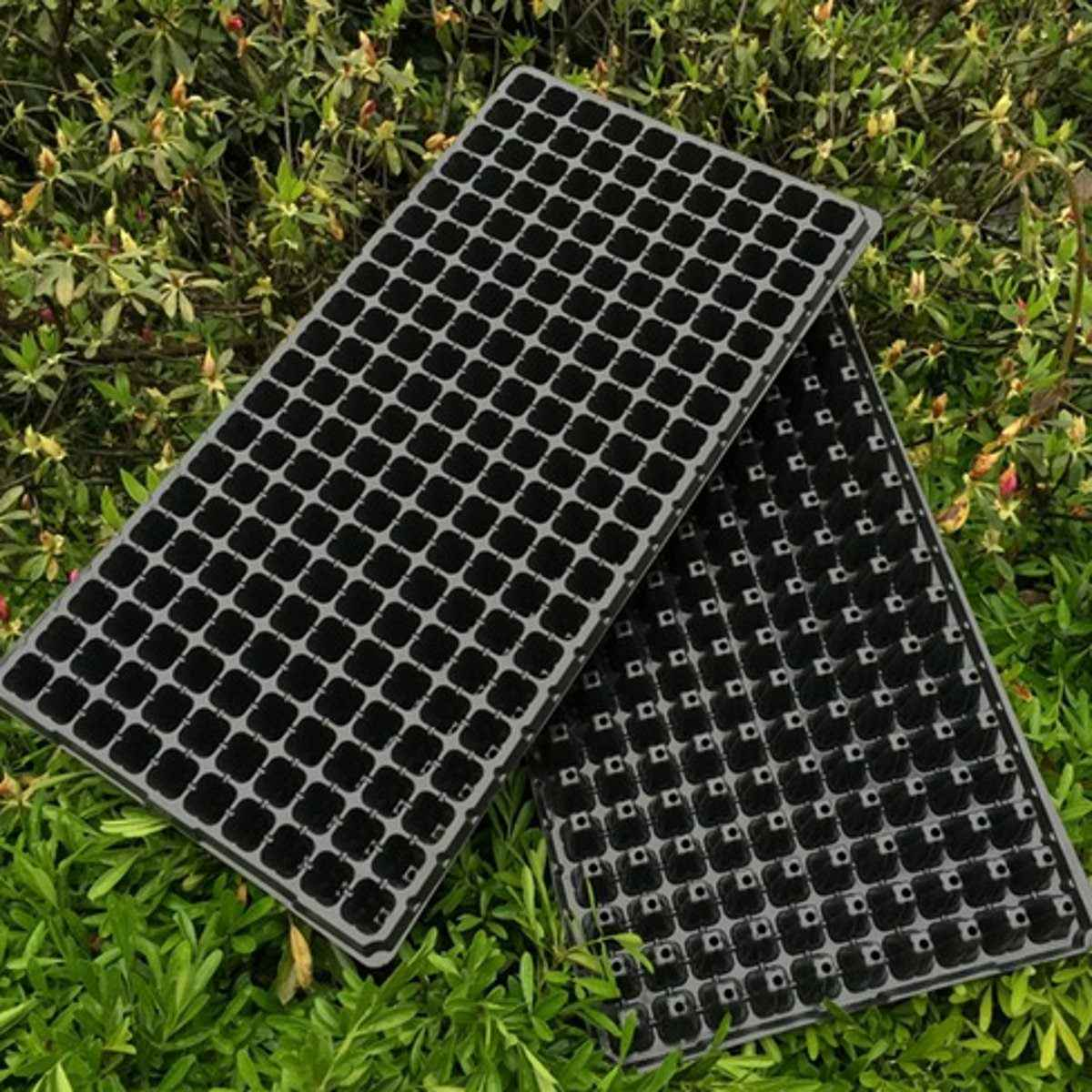 200 Holes Seedling Starter Planting Tray Extra Strength Seed Germination Vegetable Plant Flower Pot Nursery Grow Box Propagation