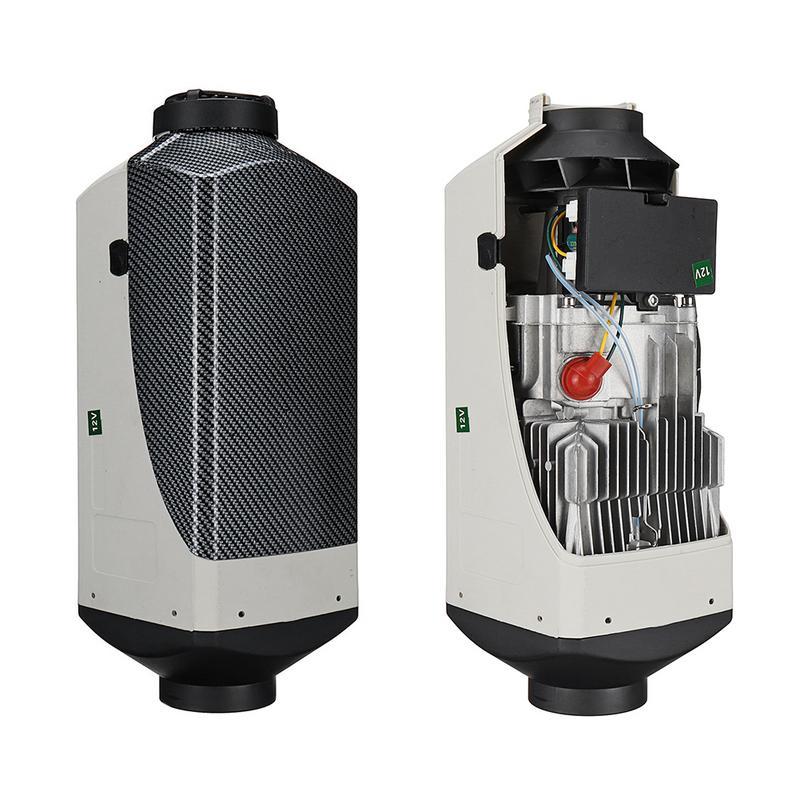 Auto Riscaldatore 12 V 5000 W Diesel Riscaldatore Ad Aria Aria Diesel Riscaldatore di Parcheggio Kit di Riscaldamento Attrezzature Con Interruttore LCD Display - 6
