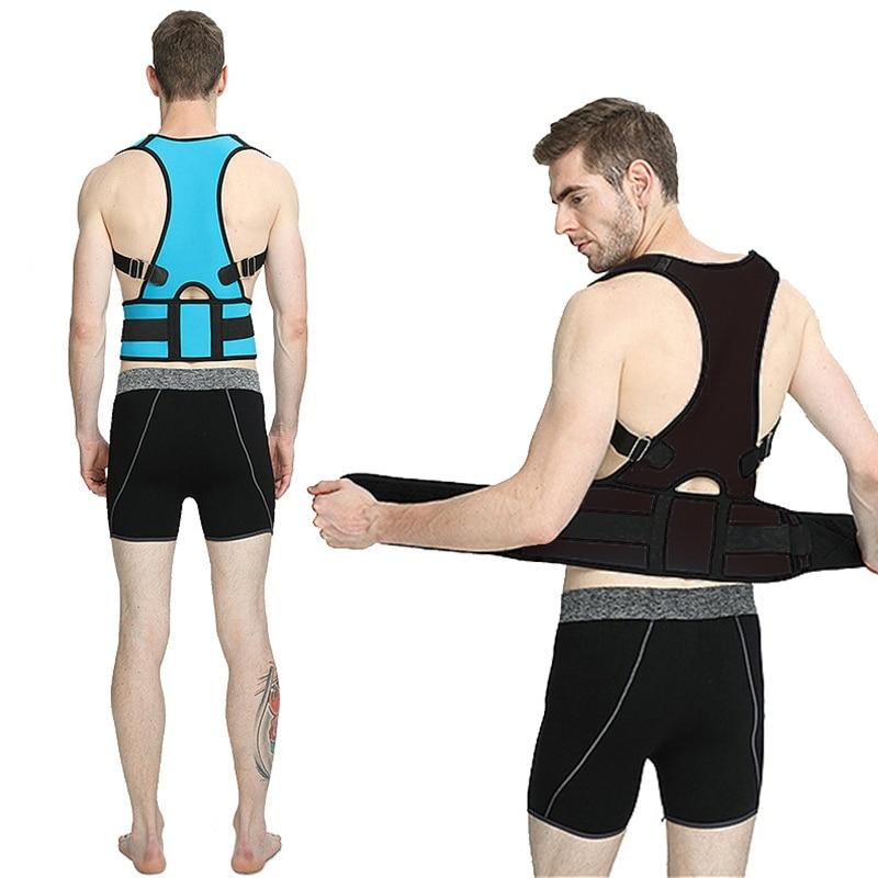 Back Brace Posture Corrector Back Support Belt Adjustable Corset Lumbar Brace Spine Support Belt  Posture Corrector Health Care