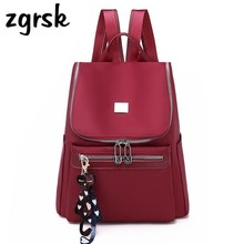 Anti Theft Women Backpacks Famous Brand Ladies Large Capacity Backpack High Quality Waterproof Oxford Mochila