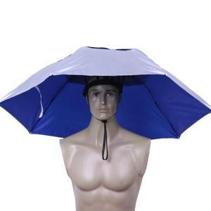 Foldable Head Umbrella Hat Rai