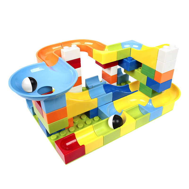 Building Blocks Large Particles Puzzle Early Education Assembled Toys Baby