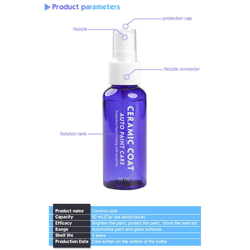 Image 2 - Car Crystal Coating Agent Car Paint Crystal Coating Car Liquid Ceramic Coating Motorcycle Car Paint Care-in Car Washer from Automobiles & Motorcycles