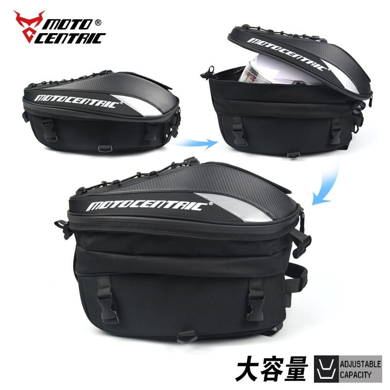 MOTOCENTRIC <font><b>Motorcycle</b></font> Luggage Tail <font><b>Helmet</b></font> Bag Luggage Waterproof