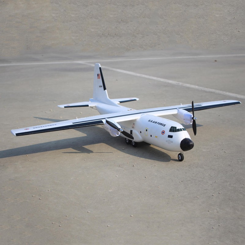 ترقية C 160 Cargotrans التوأم هرقل 1120 مللي متر جناحيها ملحمة Warbird النقل RC هليكوبتر كيت للأطفال ألعاب أطفال هدايا-في طائرات تعمل بالتحكم عن بعد من الألعاب والهوايات على  مجموعة 1