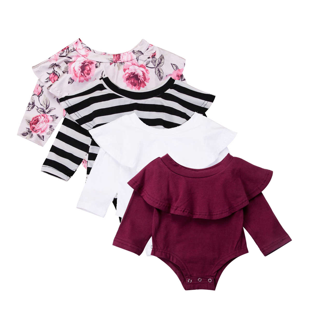 f0aa79b0434d Detail Feedback Questions about One Piece Toddler Baby Girl Long ...