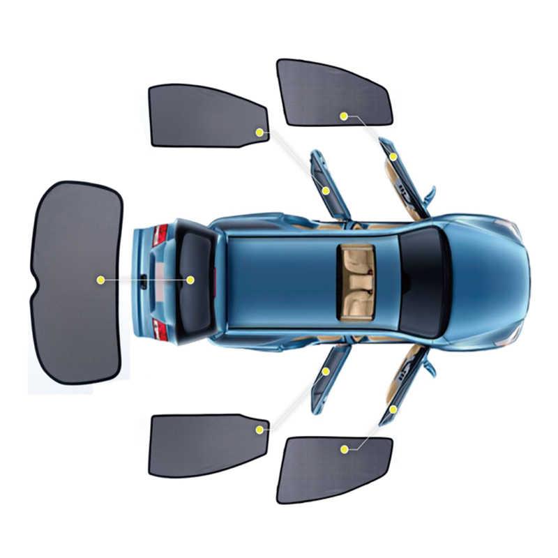 4 ピース/セットまたは 2 ピース/セット磁気車のサイドウィンドウのための日よけメッシュシェードブラインドトヨタカローラ 2007 2008 2009 2010 2011 2012 2013