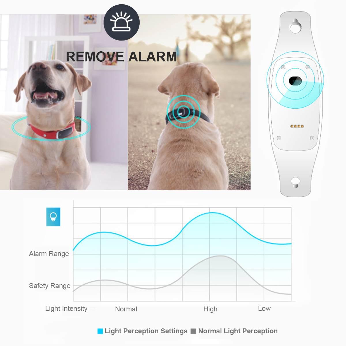 Мини водонепроницаемый ошейник для собак и кошек, идентификационный локатор для домашних животных, gps трекер, GSM устройство слежения, Wi Fi устройство слежения в реальном времени для собак, кошек, устройство слежения - 4