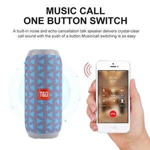 Image 3 - TG Bluetooth Lautsprecher Tragbare Outdoor Sport Lautsprecher Wireless Mini Spalte Musik Player Unterstützung TF Karte FM Radio Aux Eingang