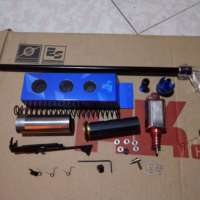 Luxury Upgrade Modification Kits with SHS Gear 18/1 Version for GJ Gen.9 M4A1 Gearbox Modification Upgrade