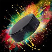 1 шт оптом пустые Хоккейные шайбы-официальное регулирование Высокое качество зимняя практ Хоккейная Шайба прочная Резина