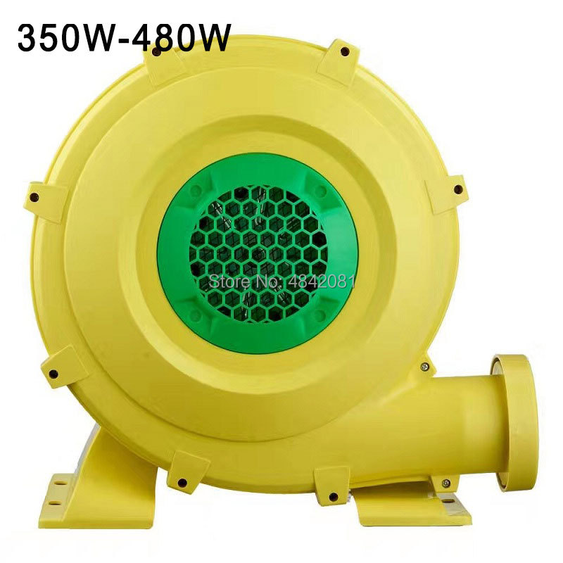 High quality 350 480W Small dust exhaust electric blower Inflatable model centrifugal blower air blower pump