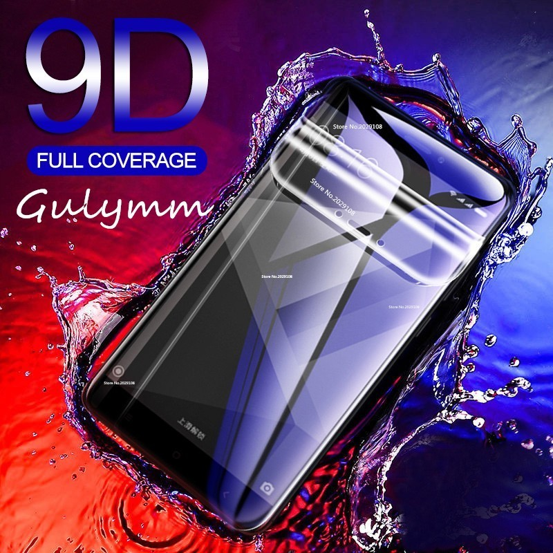 9D Soft Hydrogel Film For Xiaomi Redmi 7  K20 6 6A 5 5A Plus 4X Note 7 6 Pro Screen Protector For Poco Phone F1 Mi A2 Lite Film