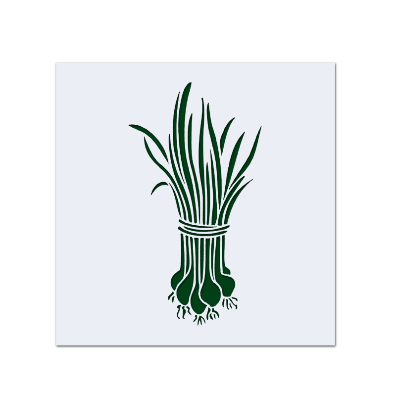 13cm Onion DIY Layering Stencils Wall Painting Scrapbook Coloring Embossing Album Decorative Card Template