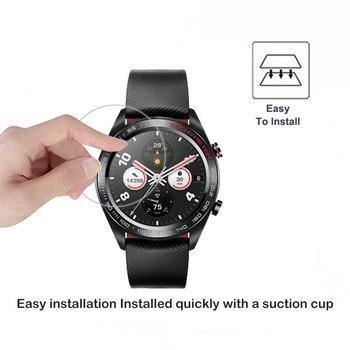2.5D verre trempé protecteur d'écran pour Huawei Honor montre magique 2 GT 2 2e 42mm 46mm Smartwatch écran garde Film protecteur 5